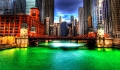 Den grønne flod i Chicago – St. Patricks Day tradition
