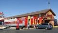 Berømt spisested i Barstow på Route 66 – McDonald's i en togvogn