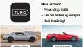Hvad er Turo? – privat billeje og car sharing service i USA