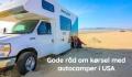 Gode råd om kørsel med autocamper i USA