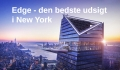 Edge udsigtsplatform New York – ny Hudson Yards turistattraktion