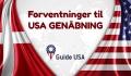 USA forventer genåbning for rejsende fra Danmark 8. november 2021
